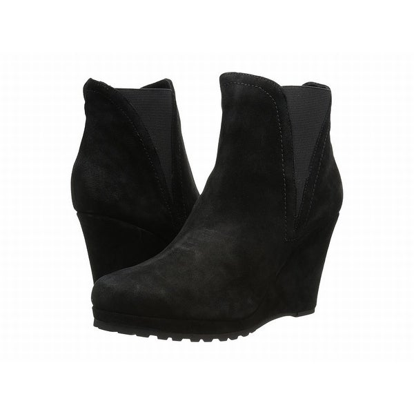 Vaneli Black Jamilla Shoes Size 9.5M Ankle Suede Boots