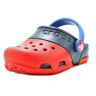 Crocs Electro Round Toe Synthetic Clogs