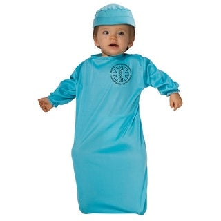 Rubie's Costume Baby Bunting, Surgeon,Doctor, 0-9 Months, Halloween