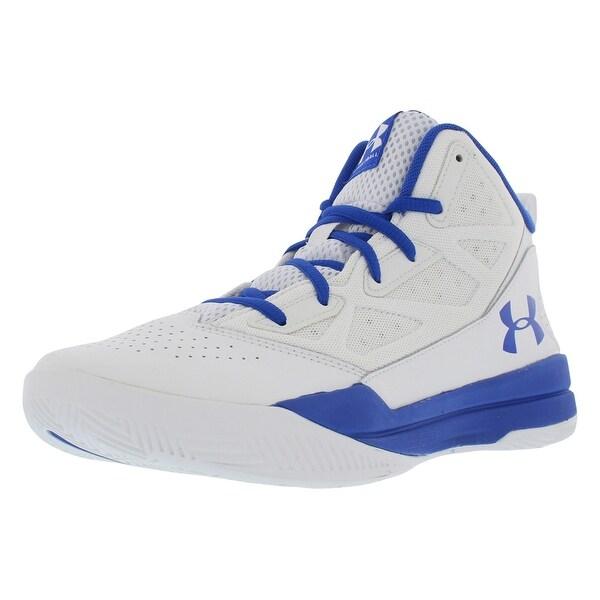 a33bd8596a Shop Under Armour Jet Gradeschool Basketball Boy's Shoes - 7 m us ...