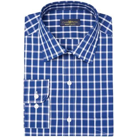 Club Room Mens Ls Button Up Dress Shirt
