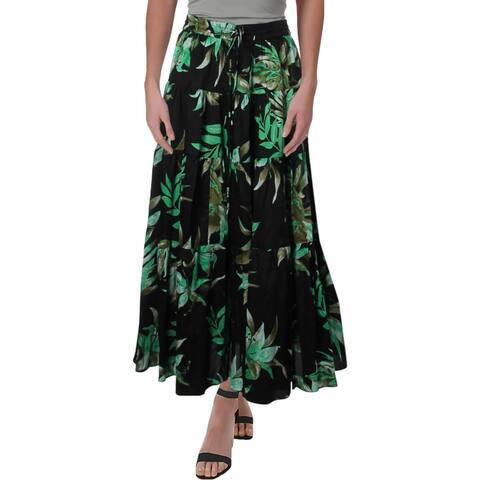 Lauren Ralph Lauren Womens Midi Skirt Printed Daytime
