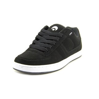 Osiris Relic Youth Round Toe Synthetic Black Skate Shoe