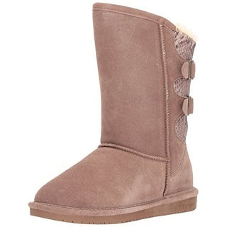 BEARPAW Women's Boshie Fashion Boot, Taupe, M090 M US