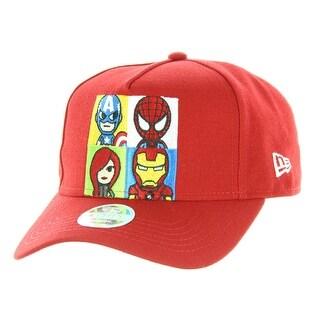 Tokidoki Marvel Lineup New Era 9Forty Women's Red Snapback Hat
