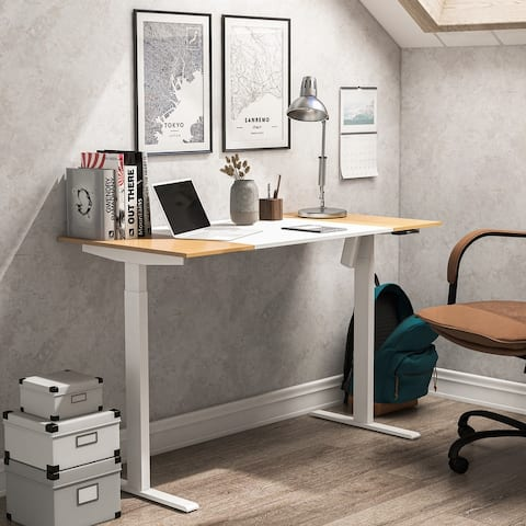 Getty 47-inch Height Adjustable Electric Standing Desk
