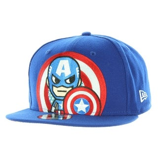 Tokidoki Marvel The Captain New Era 9Fifty Men's Blue Snapback Hat