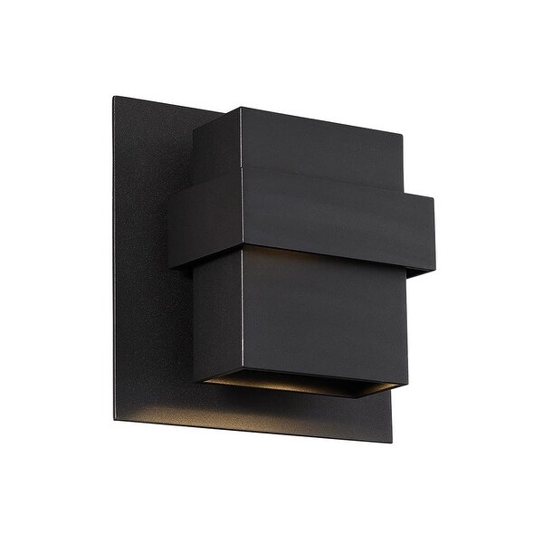 """Modern Forms WS-W30509 Pandora 2-Light 9"""" Tall Integrated LED Outdoor Wall Sconce"""