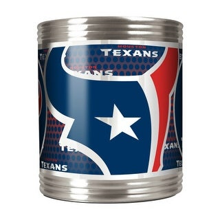 Great American Products Houston Texans Can Holder Stainless Steel Can Holder