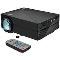 Pyle Home  1080p HD Compact Digital Multimedia Projector, Black