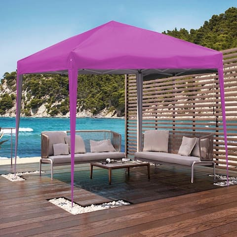 Ainfox 10 x 10 ft Pop up Canopy Tent Gazebo Party,Gazebo,Beach,Camping,Sun Shelter,Market,Tailgate Party,Backyard