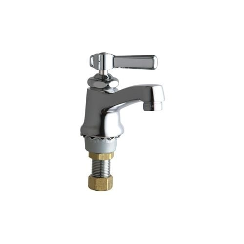 Chicago Faucets 730 Coldab Single Supply Cold Water Basin Faucet With Lever Handle