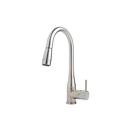 Symmons S-2302-STS-PD-1.5 Sereno Single Handle Standard Pull-Down Sprayer Kitchen Faucet