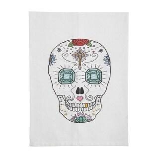 Sugar Skull Printed Tea Towels