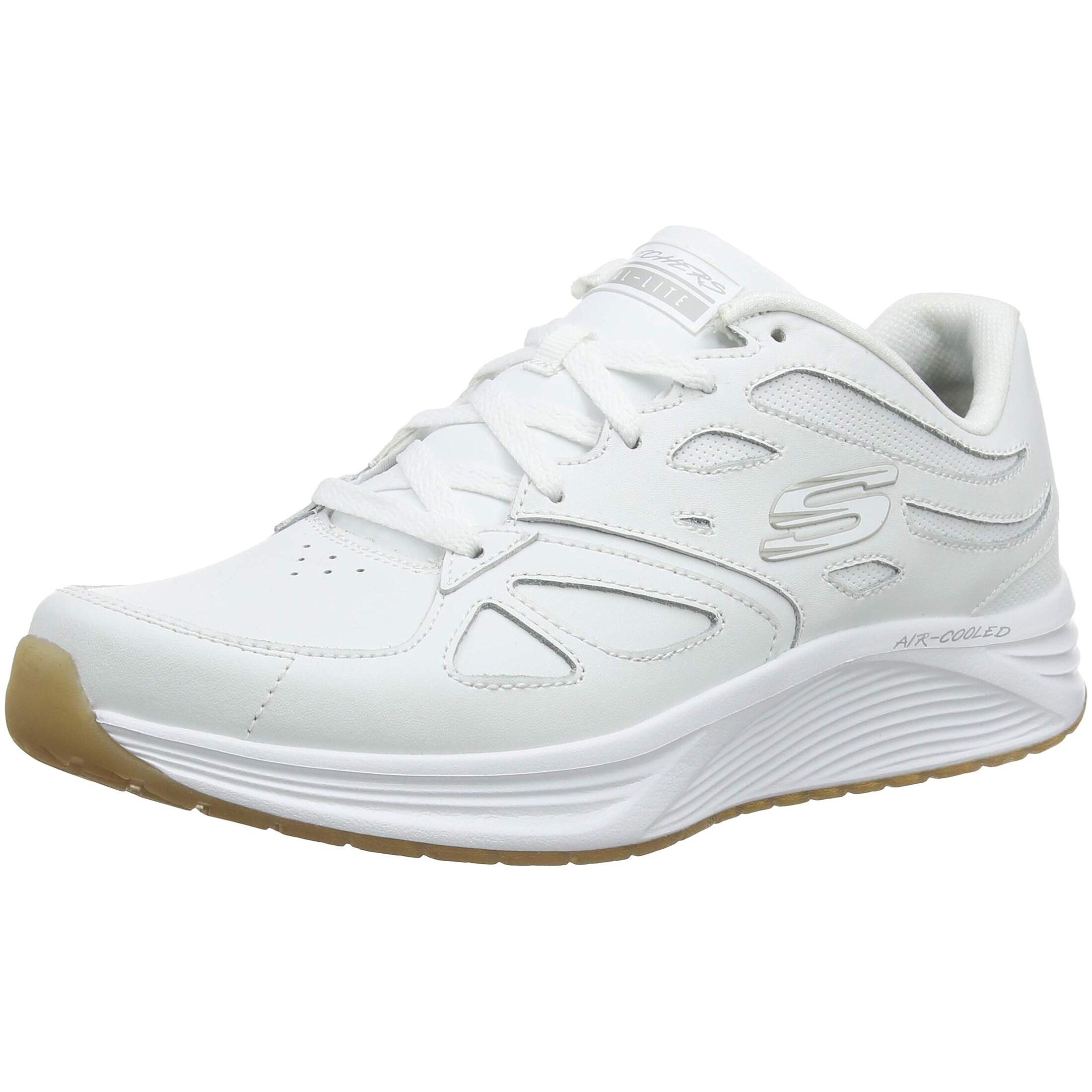 Skechers Men's Skyline Woodmist White Casual Shoe 10.5 Men Us