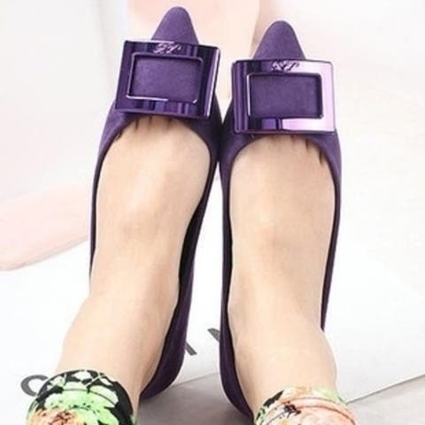 Women Single Shoes With Flat Heel