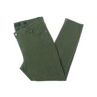 Lucky Brand Mens Skinny Jeans Twill High Rise