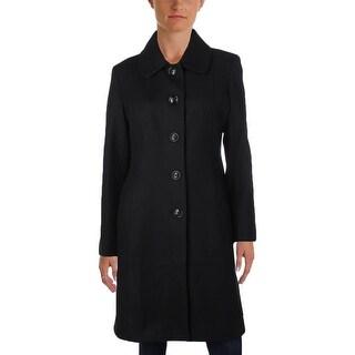 Anne Klein Womens Coat Wool Outerwear - 12