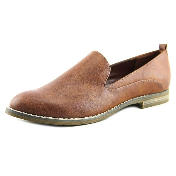 Indigo Rd. Hestley Women Square Toe Synthetic Brown Loafer
