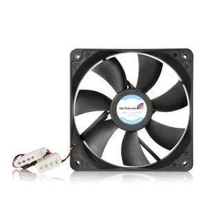 Startech Fanbox12 120X25mm Dual Ball Bearing Computer Case Fan W/ Lp4 Connector