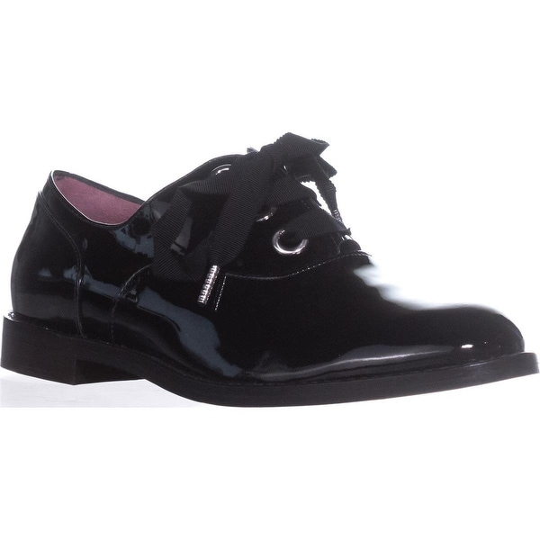 Marc Jacobs Helena Lace-Up Oxfords, Black - 8.5 us / 38.5 eu