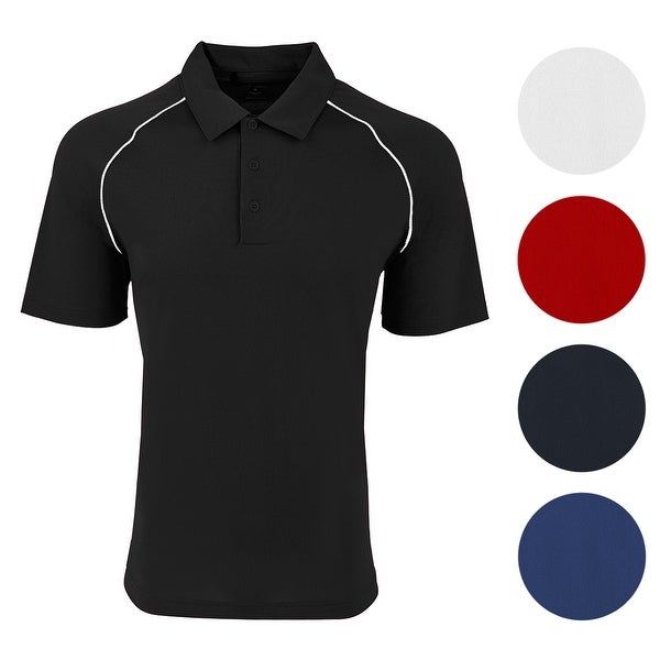 a47567545d7 Shop adidas Men's Climacool Colorblock Polo - Free Shipping On Orders Over  $45 - Overstock - 23562650