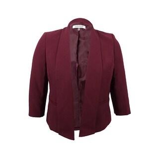 Link to Kasper Women's Stretch Crepe Flyaway Blazer Similar Items in Suits & Suit Separates
