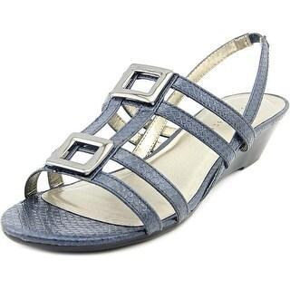 Karen Scott Serha Women Open-Toe Synthetic Slingback Sandal