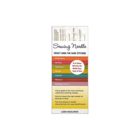 C&T Sewing Needle Pocket Guide For Hand Stitching