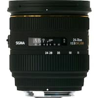 Sigma 24-70mm f/2.8 IF EX DG HSM Lens for Sony A (International Model)