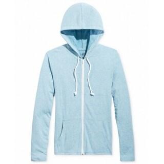 American Rag NEW Blue Men's Size 2XL Lightweight Full Zip Sweater