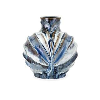 IMAX Home 13904  Myla Medium Ceramic Vase - Multi-Colored