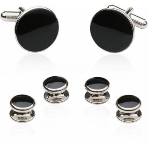 Budget Black And Silver Formal Set