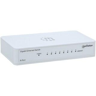 Manhattan Gigabit Ethernet Switch (8 Port)