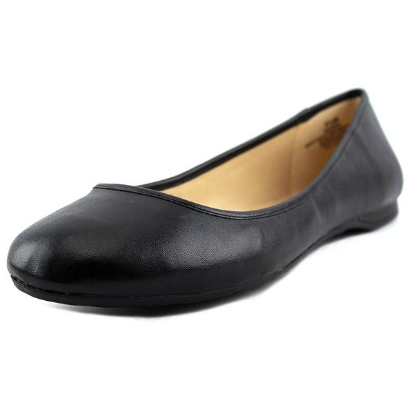 Nine West Fedra Women W Round Toe Synthetic Black Flats