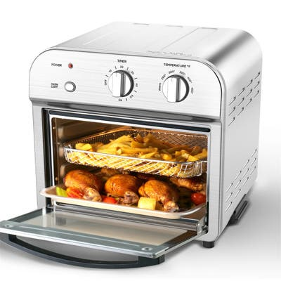 Air Fryer Toaster Oven Countertop Oven with 4 Slice Convection - 1500W