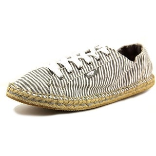 Rocket Dog Tempo Women Round Toe Canvas Gray Espadrille