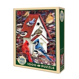 Winter Birdhouse Jigsaw Puzzle - 1000 Piece Cobble Hill - multi-color