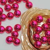 "60ct Pink Magenta Shatterproof Shiny Christmas Ball Ornaments 2.5"" (60mm)"
