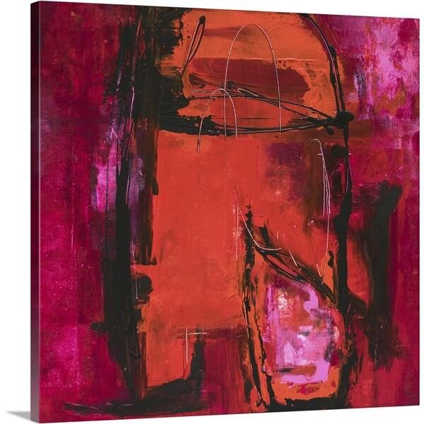 """Raspberry Beret"" Canvas Wall Art"