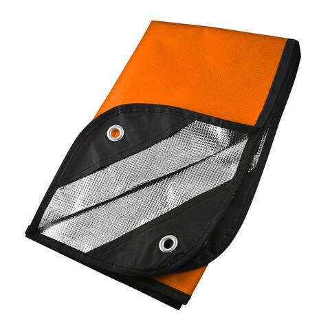 UST 20-PGR0010-08 Orange/Reflective Survival Blanket / 2.0