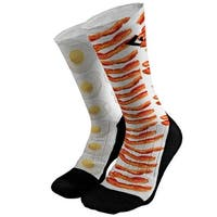 Bacon and Eggs Athletic Compression Socks