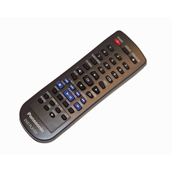 OEM Panasonic Remote Control Originally Supplied with DVDS48, DVDS68