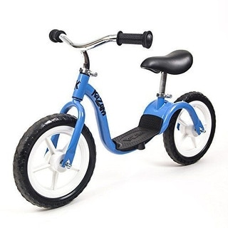 "KaZAM v2e No Pedal 12"" BALANCE BIKE, Puncture Resistant Tires Kids BIKE, Blue"