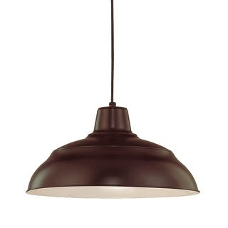 "Millennium Lighting RWHC17 R Series 1 Light 17"" Wide Warehouse Pendant (More options available)"