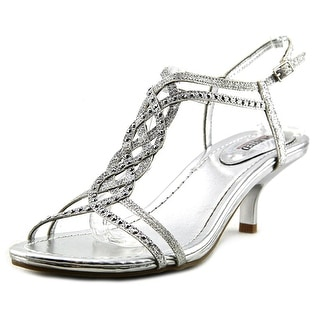 Unlisted Kenneth Cole Kind Gal Women Open Toe Synthetic Silver Sandals