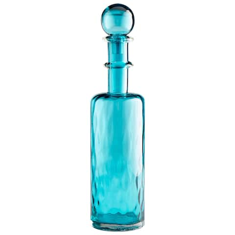 """Cyan Design 10039 Decadent 23-1/4"""" Tall Glass Decanter"""