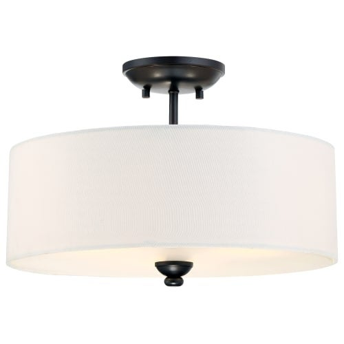 Minka Lavery 3286-589 3 Light Semi-Flush Ceiling Fixture from the Shadowglen Collection