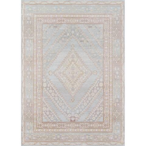 Momeni Isabella Polyester Geometric Area Rug