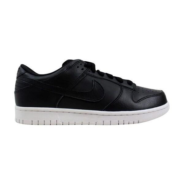5ea83e8012f3 Shop Nike Dunk Low Black Black-White 904234-003 Men s - Free ...